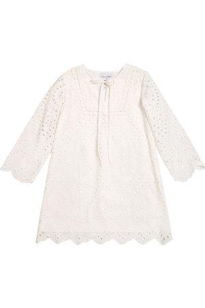 Oscar de la Renta Cotton Lace Caftan