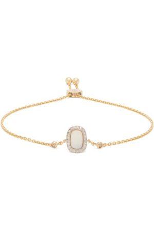 Anissa Kermiche October Opal, Diamond & 14kt Gold Bracelet - Womens - Multi