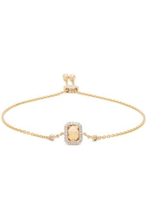 Anissa Kermiche November Citrine, Diamond & 14kt Gold Bracelet - Womens