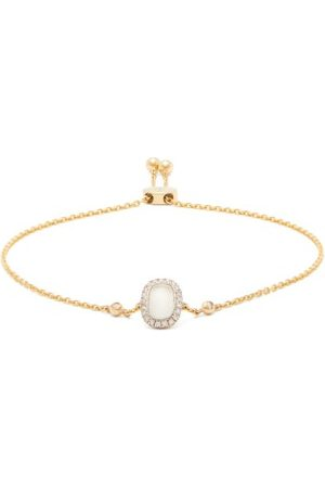 Anissa Kermiche June Moonstone, Diamond & 14kt Gold Bracelet - Womens - Multi