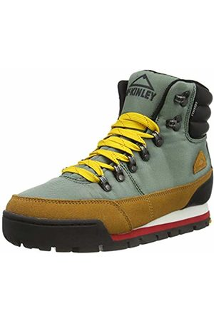 mc kinley Men's Heritage 1984 Mid A Hi-Top Trainers, ( Dark/Yello Br 900)
