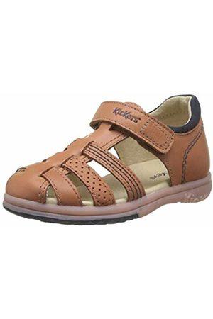 Kickers Baby Boys' Platiback Sandals, (Camel 114)
