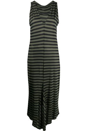 Romeo Gigli Pre-Owned Women Dresses - 1990s fitted striped dress