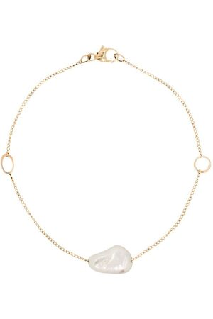 MELISSA JOY MANNING 14kt pearl pendant bracelet