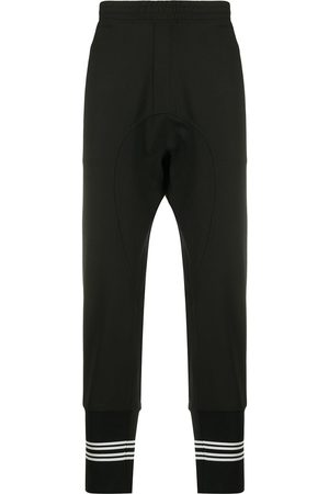 Neil Barrett Men Trousers - Drop-crotch track pants