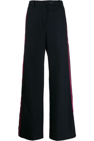 Miaoran Women Trousers - Side-stripe tailored trousers
