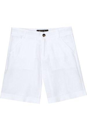 Loro Piana Arden linen bermuda shorts