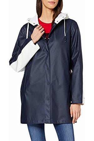 Tommy Hilfiger Women's Alice Colourblock Raincoat Coat
