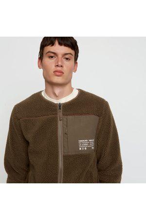Timberland ® x woodwood cls fleece jacket for men in grey greige, size l