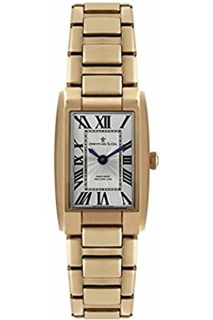 Dreyfuss Womens Analogue Classic Quartz Watch with Stainless Steel Strap DLB00054/01