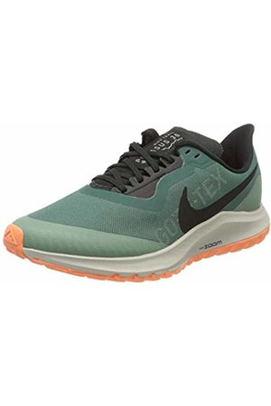 Nike Women's W Zoom Pegasus 36 Trail GTX Competition Running Shoes, Bicoastal/Off Noir/ Pine