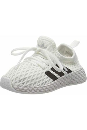 adidas Unisex Kids' Deerupt Runner I Fitness Shoes, (Blanco 000)