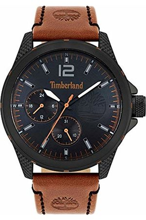 Timberland Men's Analogue Quartz Watch with Leather Strap TBL15944JYB.02