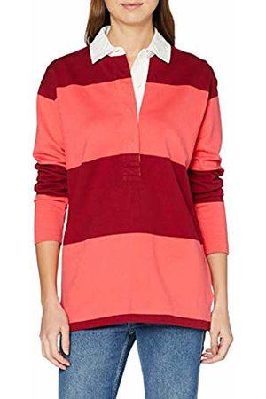 GANT Women's O1. Bold Stripe Heavy Rugger Polo Shirt