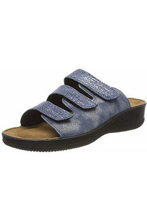 Romika Women's Salina 01 Open Toe Sandals, (Jeans-Kombi 541)