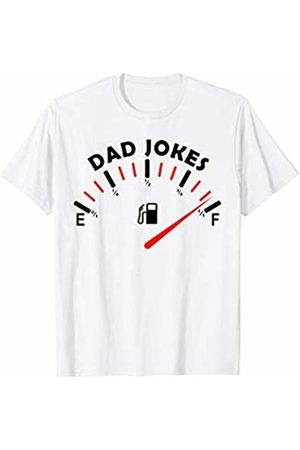 Dad Joke Loading Family Humor Fathers Day Dad Jokes Tank is Full Bad Father Husband Hilarious Jokes T-Shirt