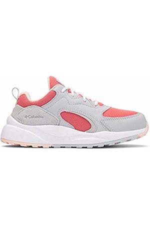 Columbia Unisex Kid's Youth Pivot Walking Shoe, (Coral Bloom, Blush Rose 692)