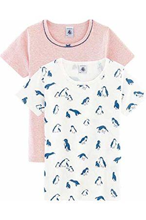 Petit Bateau Girl's Tee Shirt Mc_5097800 Vest
