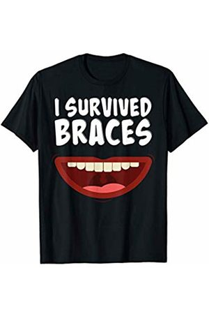 Dental Braces Off Gifts For Girls, Boys and Adults Survived Dental Braces Off Gift T-Shirt