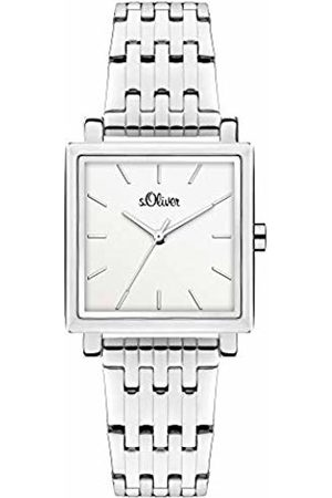 s.Oliver Quartz Watch with Stainless Steel Strap SO-3981-MQ