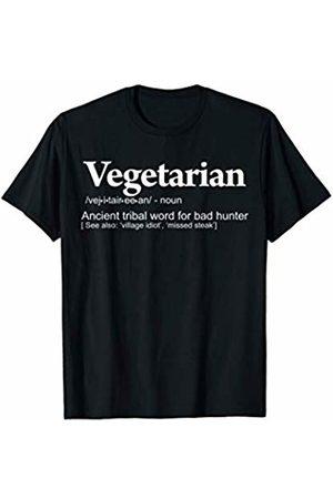 Miftees Anti-Vegetarian funny Vegetarian definition T-Shirt