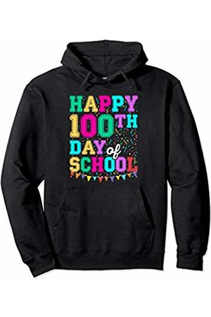 Wowsome! Happy 100th Day of School Shirt for Teacher or Kid Gift Pullover Hoodie