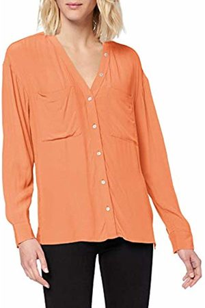 TOM TAILOR Women's Lockere Langarmbluse Blouse