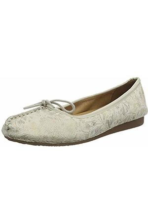 Clarks Women's Freckle Ice Ballet Flats, (Off Off )