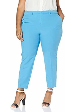 Dorothy Perkins Curve Women's Elastic Back Waistband Ankle Grazer Trousers