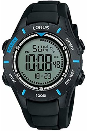 Lorus Boys Chronograph Digital Watch with Silicone Strap R2367MX9