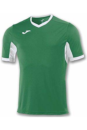Joma Champion IV M/C Men's Equipment T-Shirt, Mens, 100683.452_2XS, Verde/Bianco