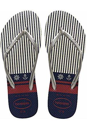 Havaianas Women's Slim Nautical Flip Flops, ( / 0535)