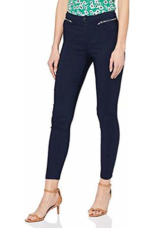 Yumi Women's Zip Pocket Navy Jegging Jeans