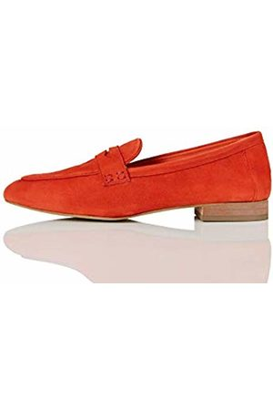FIND Soft Leather Loafers, (Burnt )