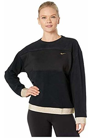 Nike Women's Icon Clasische Them Fleece Crew Sweatshirt