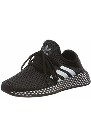 adidas Unisex Kids' Deerupt Runner C Fitness Shoes, (Negro 000)