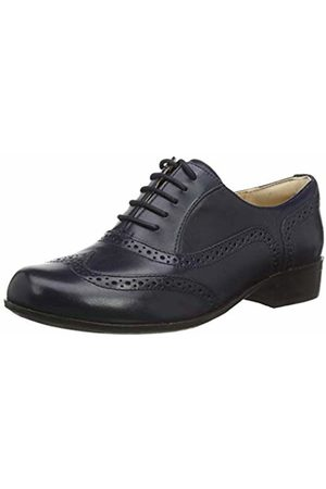 Clarks Women's Hamble Oak Brogues, (Navy Leather Navy Leather)