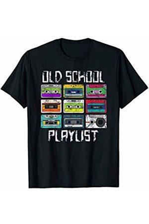 Eighties T-Shirts Co. Retro Casette Tape 80s Gifts Cassette Tape Music T-Shirt Retro 80s Old School Playlist T-Shirt