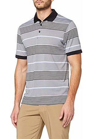 Callaway Men's 3 Scolour Stripe Golf Polo