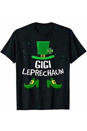 St Patricks Day Grandma Outfit Gigi Leprechaun Saint Patrick's Gift for Grandma Women T-Shirt