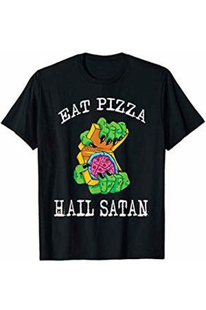 Daily Life Satanic Shirts Church of Satan Gift Satanic Occult Eat Pizza Hail Satan T-Shirt