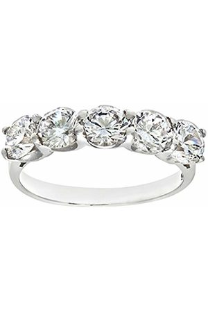 Citerna Eternity RingSterling Cubic Zirconia RingClaw Set