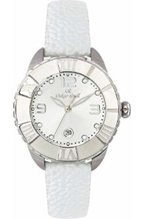 Oskar Emil Oskar-Emil Classic Celine Crystal Women's Quartz Watch with Dial Analogue Display and Leather Strap
