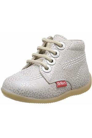 Kickers Baby Girls' Billy-2 Boots, (Blanc Leopard 32)