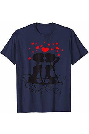 KoLo T Shirts Love Valentines Day Partner Gift Present Cute T-Shirt