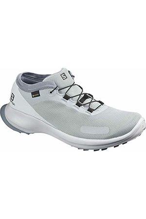 Salomon Men's Trail Running Shoes, SENSE FEEL GTX, Colour: (Quarry/Pearl /Flint Stone)