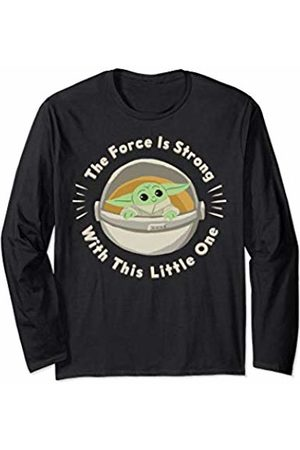 STAR WARS The Mandalorian The Child The Force Circle Text Long Sleeve T-Shirt