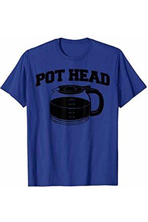 Miftees Pothead funny Coffee Pot Coffee Lovers T-Shirt