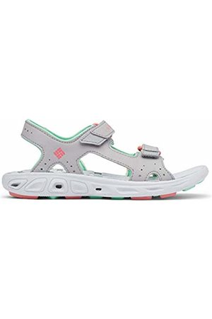 Columbia Unisex Kid's Youth TECHSUN Vent Sport Sandal, (Steam, Coral Bloom 088)