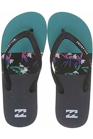 Billabong Men's Tides Tribong Flip Flops, (Aqua 804)